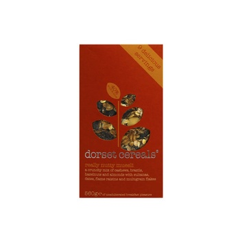 Dorset Cereal Muesli Really Nutty 560g