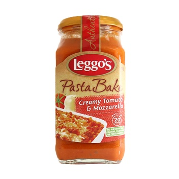 Leggo's Pasta Bake Creamy Tomato & Mozzarella 575g
