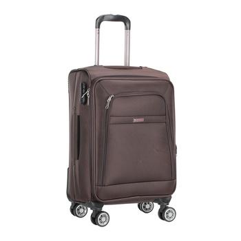 Voyager Trolley Bag  Brown - 20 inch