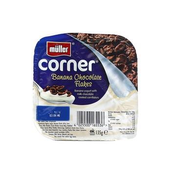 Muller Crunch Corner Banana & Chocolate 135g