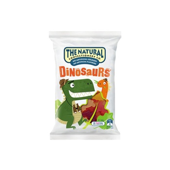 The Natural Confectionery Jelly Dinosaurs 260g