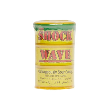 Shock Wave Drum Assorted Sour Candy 48g