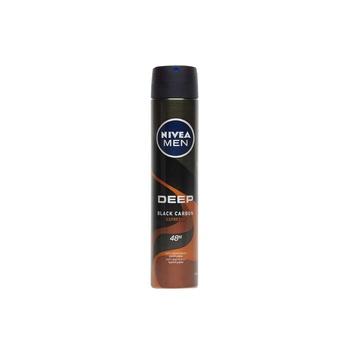 Nivea Men Deep Black Carbon 48h Anti-Perpirant Deo Spray 200ml