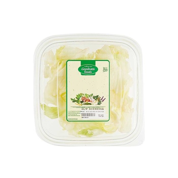 Goodness Foods Iceberg Lettuce 100g Pack