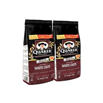 Quaker Oats Pouch 2X600g