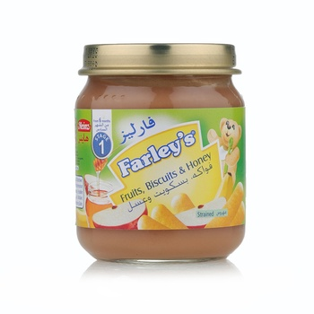 Farleys Fruit Biscuit And Honey 120g