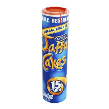 Mcvities Jaffa Cakes In Tubes  187g