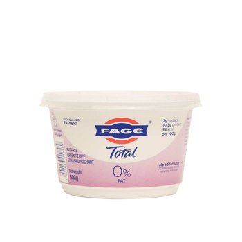 Fage Total 0% 500 Gm