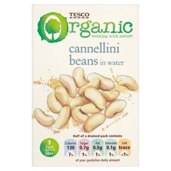 Tesco Organic Cannellini Beans 380g