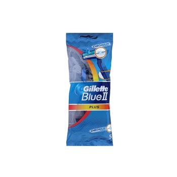 Gillette Blue II Plus Disposable Razors 1 X 5