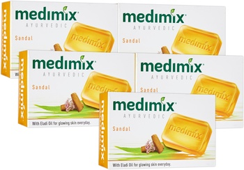 Medimix Ayurvedic Soap with Sandal and Eladi Oils 5x125g