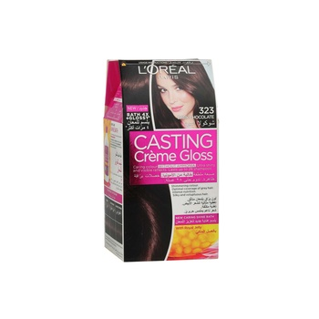 Loreal Casting Cream Gloss 323 Dark Choco