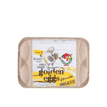 Al jazira organic eggs 6's