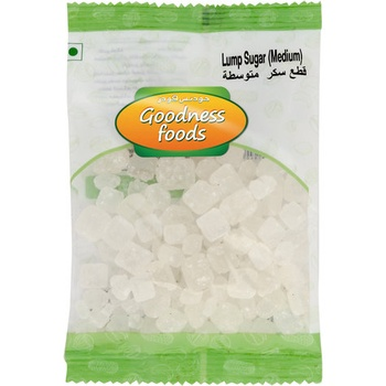 Goodness Foods Lump Sugar (Medium) 100g