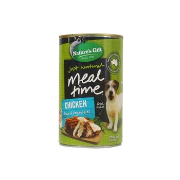 Natures Gift Chicken Rice & Vegetables Dog Food 700g
