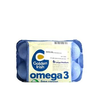 Golden Irish Omega 3 Free Range Large/Medium 6 Pack