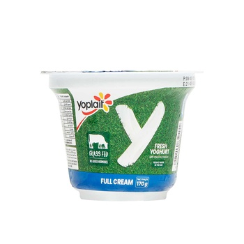 Yoplait Plain Full Fat 170g