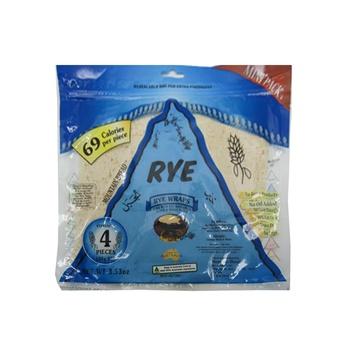 Mountain Bread Rye Wraps 100g