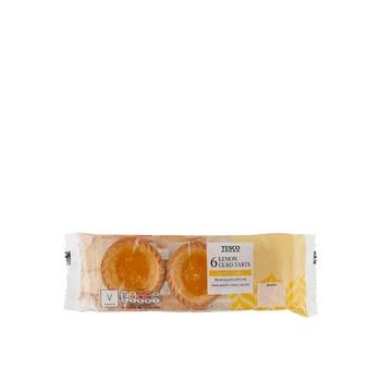 Tesco Lemon Curd Tarts 232G 6Pcs