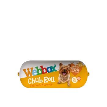 Webbox Dog Treat Chub Rolls Chicken 315g