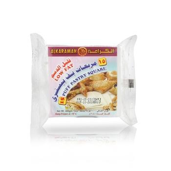 Al Karamah Low Fat 18 Puff Pastry Square 400g