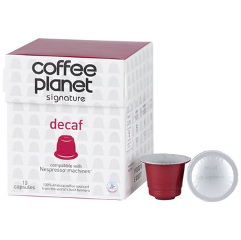 Coffee Planet Nespresso Compatible Capsules Decaf 10 x 5g