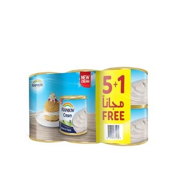 Rainbow Sterilized Cream 170g (5+1 Free)