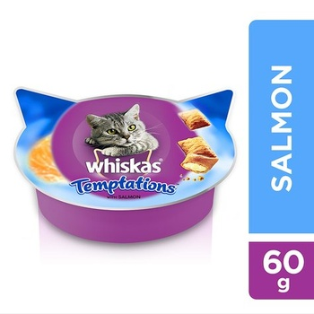 Whiskas Temptation With Salmon 60g