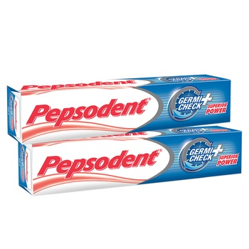Pepsodent Germicheck Toothpaste 2 x 150g