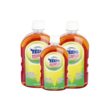 Teepol Antiseptic Disinfectant 2X750ml+500ml