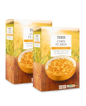 Tesco Corn Flakes Cereal 2 x 500g