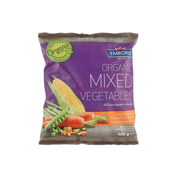 Emborg Organic Mix Vegetable 400g
