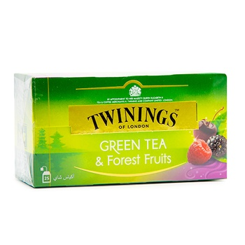 Twinings Green Forest Fruits 25's