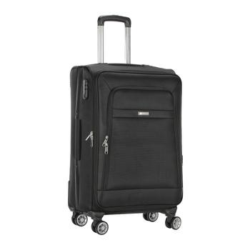 Voyager Trolley Bag  Black - 24 inch