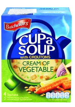 Batchelors Cream Of Vegetable Soup