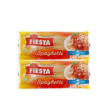White King Fiesta Spaghetti Pasta 450g Pack Of 2