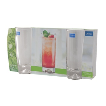 Ocean Memphis Hi Ball Tumbler 3 Pc Set