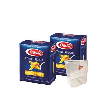 Barilla Penne Rigate 2X500G + Gift