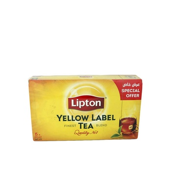 Lipton Yellow Label 200 Tea Bags