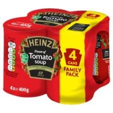 Heinz Cream Of Tomato Soup 4 x 400g