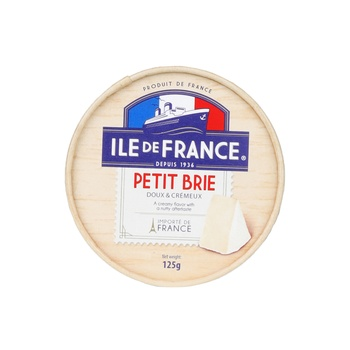 Ile De France Petit Brie - 125g