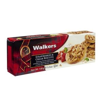 Walkers Strawberry & Cream Biscuits 150g