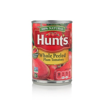 Hunts Plum Tomatoes Whole Peeled 411g