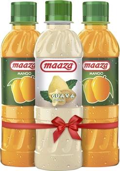 Maaza Mango Juice 2 x 1 Litre + Guava 1 Litre @ Special Price
