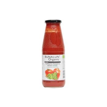 Bunalun Organic Crushed Tomato Passata with Herbs 680g