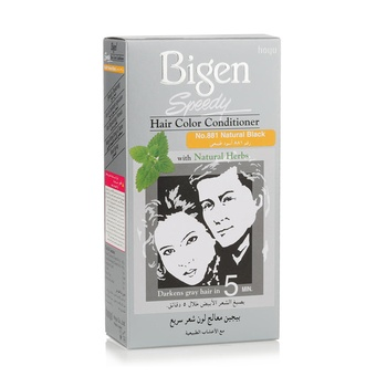 Buy Bigen Speedy Hair Color Conditioner Natural Black 881 80g