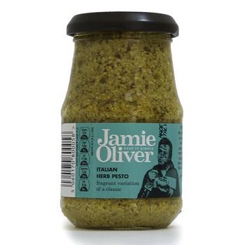 Jamie oliver italian herb pesto sauce 190g