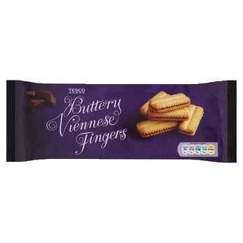 Tesco Buttery Viennese Fingers 150g