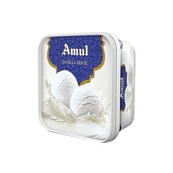 Amul Vanilla Magic Ice Cream 1 ltr