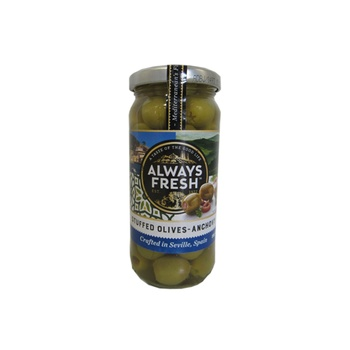 Always Fresh Anchovy Stuffed Olives 235g